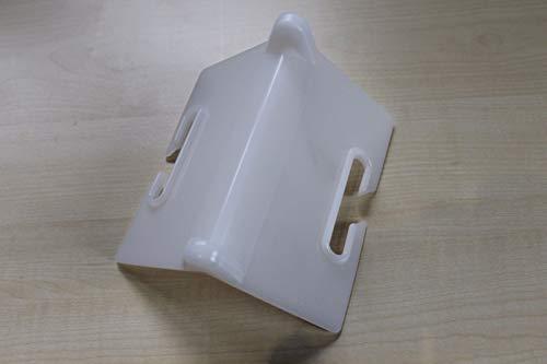 50 Stück Kantenschutzwinkel für Zurrgurte Weiß, Kantenschutz Spanngurte, Kantenschoner