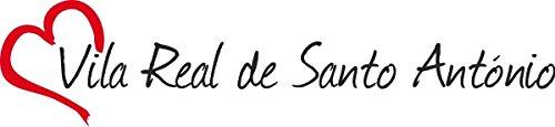 "Vinilo Adhesivo para el coche o la moto "" VILA REAL DE SANTO ANTONIO "" Vila Real de Santo António Ciudad de Portugal, Sticker ca.4x16cm Pegatina sin fondo"