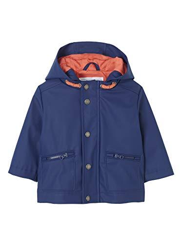 Vertbaudet Regenjacke für Baby Jungen königsblau 86