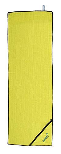 banters Sporthandtuch für Workout und Kraft-Training im Fitnessstudio (Lemon)