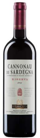 3 x 0.75 l - Cannonau di Sardegna Doc Riserva, vino rosso sardo prodotto dai geniali enologi di Sella & Mosca.
