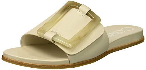 Calvin Klein Damen Patreece Sandalen zum Reinschlüpfen, Weiß (Soft White), 39.5 EU