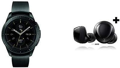Samsung Galaxy Watch smartwatch 42mm GPS Bluetooth Midnight Black Samsung Galaxy Buds Plus True product image