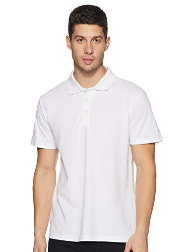 adidas Herren Essentials Base Poloshirt, weiß (White), S