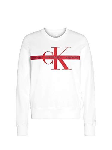 Calvin Klein - J20J213279 YAF - Sudadera con Cinta con Logo Bordado - para Mujer