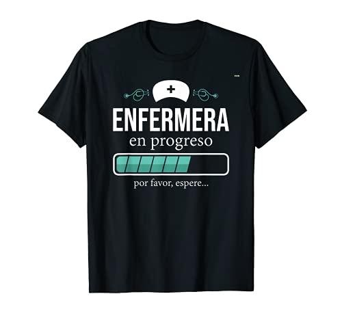 Camiseta Enfermera en progreso, Estudiante de Enfermeria Camiseta