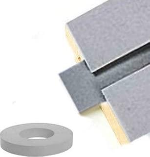 Gray Vinyl Insert for SLATWALL