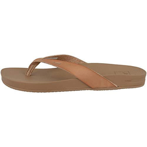 Reef Cushion Bounce Court, Chanclas Mujer, Natural, 37.5