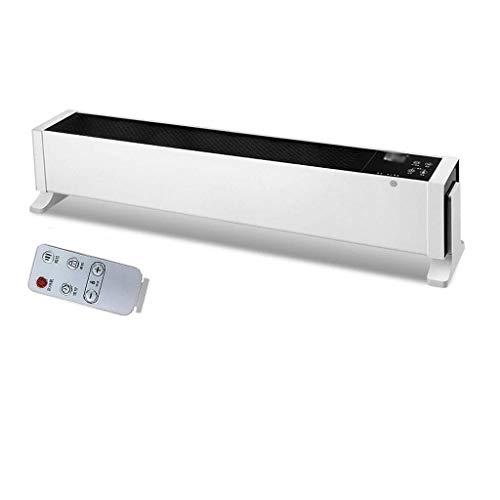 LIPENLI Calentador de zócalo Cubierta Calentador eléctrico con protección contra el sobrecalentamiento y Tip-sobre la protección, la Placa Base del radiador, termostato de regulación for la Oficina y