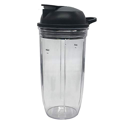 joystar Replacement 32oz cup with to go lid, Compatible with NutriBullet Blender...