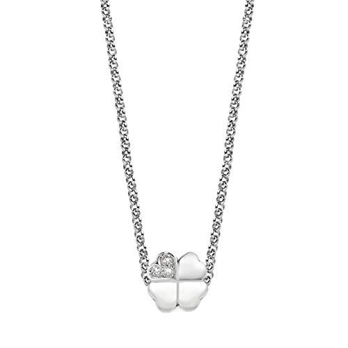Morellato Collana da donna, Collezione Drops, in acciaio e cristalli - SCZ669