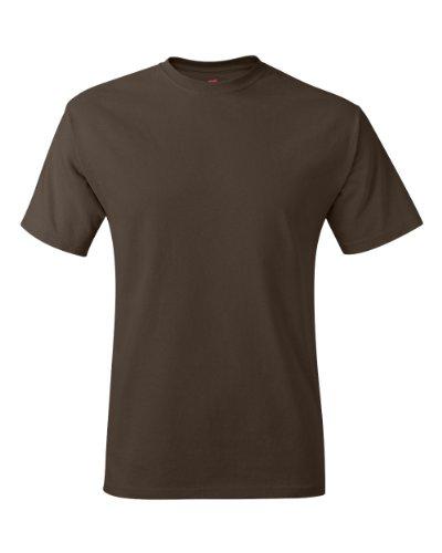 Hanes TAGLESS® T-Shirt 2XL Brown