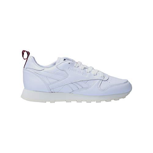 Reebok Classic - Botas de piel, Blanco, 39