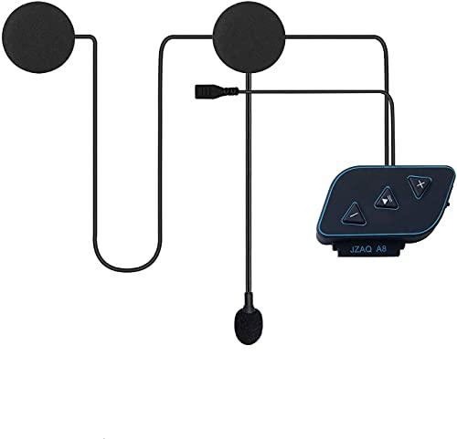Motorrad Helm Headset mit Powerbank-Funktion Drahtloses Bluetooth 5.0 Ultradünner Helmlautsprecher Hohe Klangqualität wasserdichte Bluetooth-Kopfhörer für Motorradsport Freisprechen/Musik/GPS