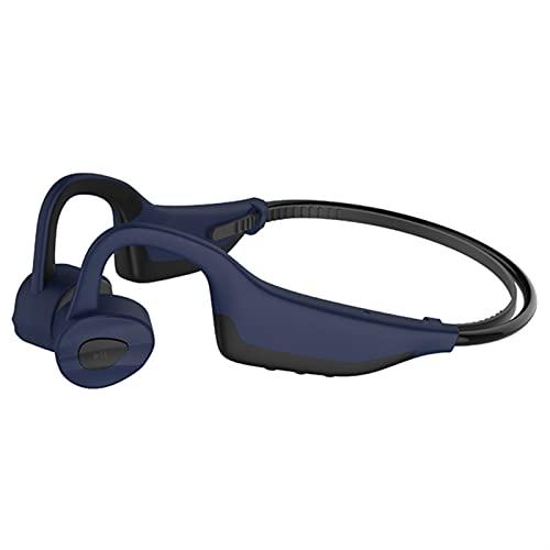 OYZY Auriculares de Buceo de natación de 16 GB para Android iOS, Auriculares de conducción ósea IPX8 Nivel bajo el Agua 3 Metros Impermeable, Tiempo de Juego 6-8 Horas (Color : Blue)
