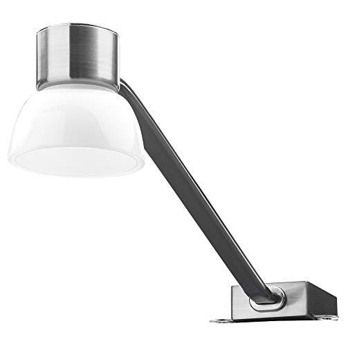 IKEA 302.604.40 Lindshult - Lámpara LED para armario (niquelada)