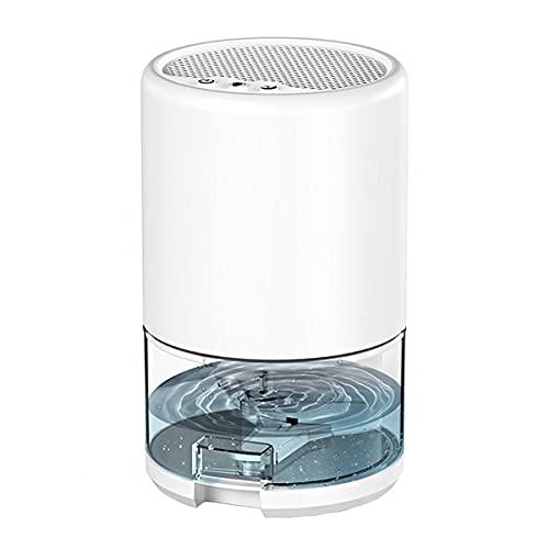 SYHDML Deumidificatore 1000ml, Deumidificatori elettrici con Multicolore Luci, Tagliato automaticamente, per Camera da Letto del Bagno Armadio Auto Caravan (Color : White)