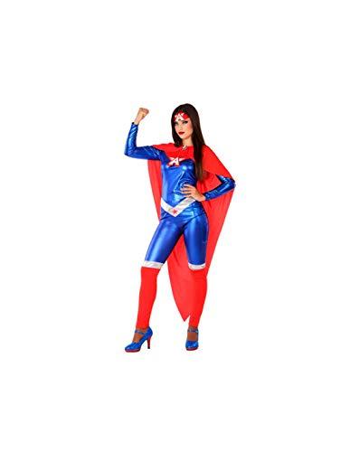 DISBACANAL Disfraz de Capitana para Mujer - -, M-L