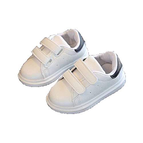 Zapatos de niño pegajoso mágico de Doble Fila Niños y niñas Desodorante...