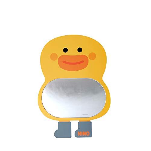 Antique Alive Pato amarillo seguro EVA irrompible acrílico niños niño niña bebé niños habitación baño jardín de infancia pared decoración del hogar lindo espejo tablero