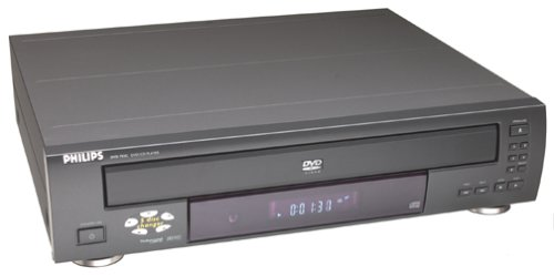 Find Discount Philips DVD782CH 5-Disc DVD Player