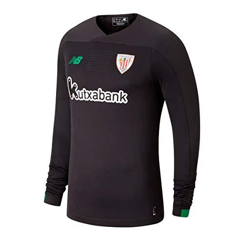 New Balance AC Bilbao Primera Equipación Portero 2019-2020, Camiseta, Negro, Talla XL