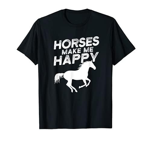 Cavalli Equitazione Cavaliere a cavallo Equitazione Maglietta