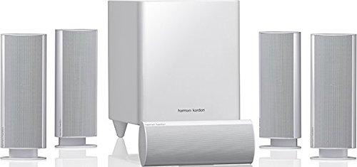 Harman/Kardon HKTS 30 5.1Kanäle 440W Weiß Lautsprecherset - Lautsprechersets (5.1 Kanäle, 440 W, Heimkino, 2-Wege, 120 W, 45 - 20000 Hz)