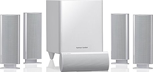 Harman Kardon HKTS 16 Enceintes Home-cinéma 5.1 - Son Surround - Incluant 4 Double haut-parleurs...