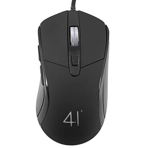 2021新型マウス 有線マウス 静音 暖かい マウス 軽量 USB接続 オフィス マウス 3色LEDライト 高精度ターゲティング 4段調節可能DPI 5ボタンカ
