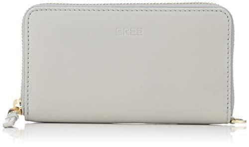 BREE Collection Issy 134, Belgian Block, Zi. C. P. M S19 - Portafogli Donna, Verde (Belgian Block), 2x8x15.5 cm (B x H T)