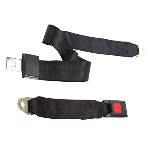 Nihlsfen Útil, Duradero y Universal, Simple cinturón de Seguridad de Dos Puntos, Conveniente y práctico, cinturón de Seguridad para autobús Escolar