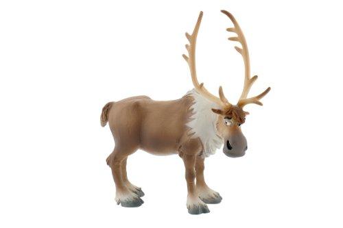 Bullyland 12965 - Spielfigur, Walt Disney Die Eiskönigin - Sven, ca. 10,5 cm groß, liebevoll handbemalte Figur, PVC-frei, tolles Geschenk für Jungen und Mädchen zum fantasievollen Spielen
