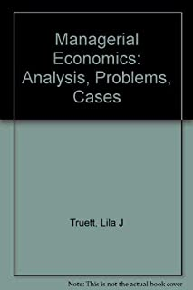 Managerial Economics: Analysis, Problems, Cases, 5th Edition