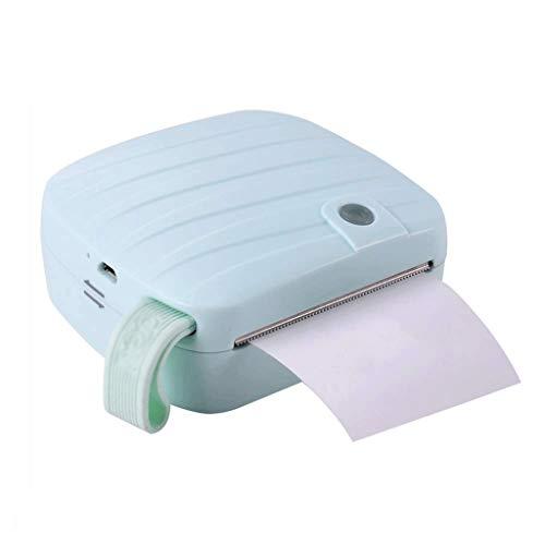 ZZHJYD Nota pegajosa de la Impresora, sin Tinta de la Impresora térmica, la conexión inalámbrica Etiqueta térmica de Recibos Impresora Compatible (Color : C)
