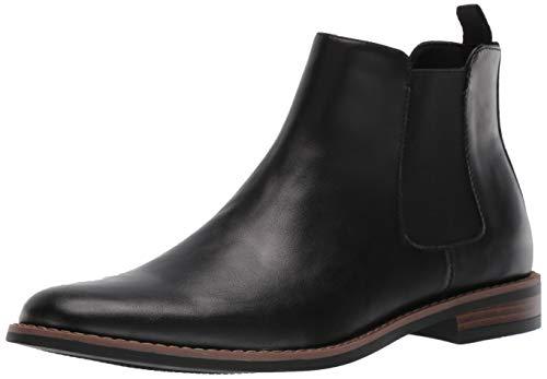 Amazon Essentials Men's Quinton Chelsea Boot, Black, 10.5 Medium US
