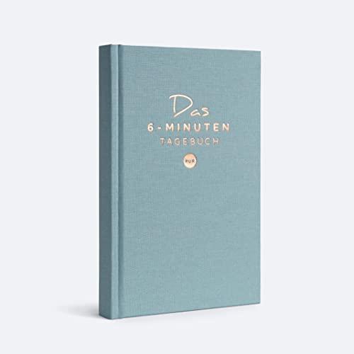 Das 6-Minuten Tagebuch PUR | Dankbarkeitstagebuch, Anti-Stress Tagebuch | Täglich 6 Minuten für deine Persönlichkeitsentwicklung, mehr Selbstliebe & Achtsamkeit