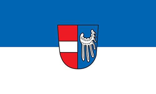 Unbekannt magFlags Tisch-Fahne/Tisch-Flagge: Endingen am Kaiserstuhl 15x25cm inkl. Tisch-Ständer