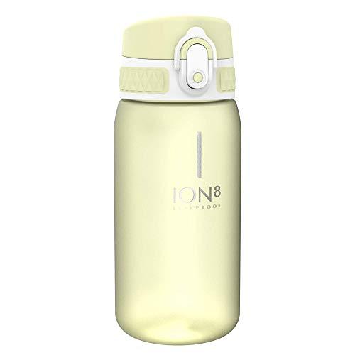 Ion8 Auslaufsichere Kinder Trinkflasche, BPA-frei, Zitrone