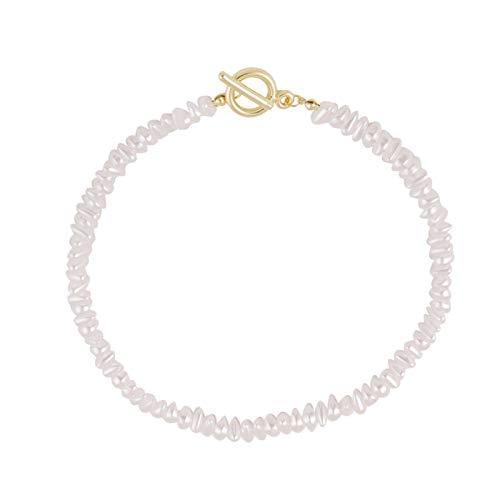 guodong Korean Fashion Beautiful Romantic Pearl Necklace Beach Wedding Photo Bracelet Set Accessories Banquet Cheongsam Wear