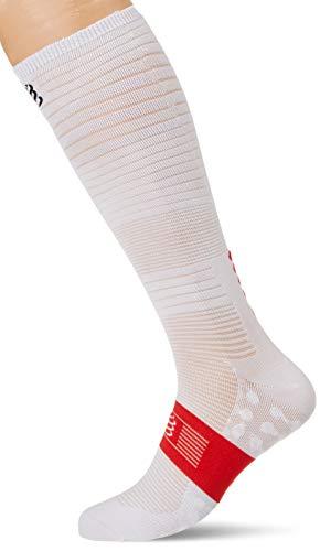 COMPRESSPORT Erwachsene Oxygen Socks, Weiß, T2