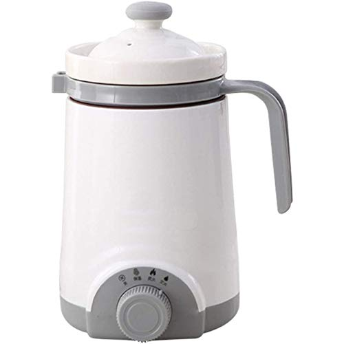 haashpylien Kessel Mini Wasserkocher Keramik Heizbecher Milchpfanne Haferbrei-Eintopf Langsamer Kocher Teekanne 220V