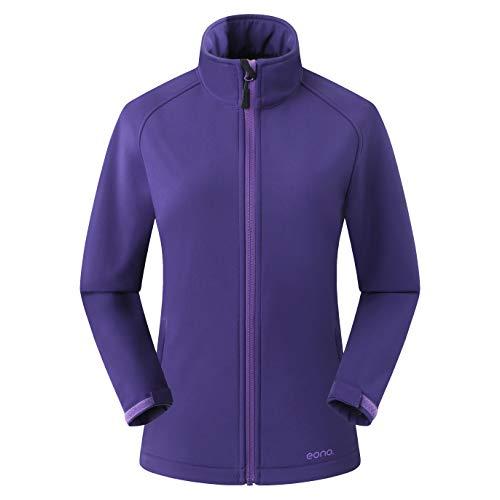 Amazon Marke: Eono Essentials Damen-Softshell-Jacke, Übergangsjacke - Small, Astral Aura