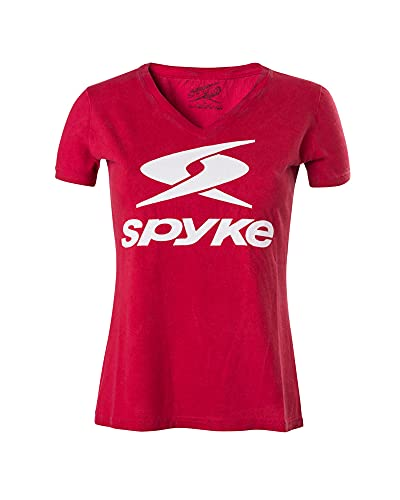 Spyke 4 Pro L/S tee Camiseta, Mujer, Rojo, L
