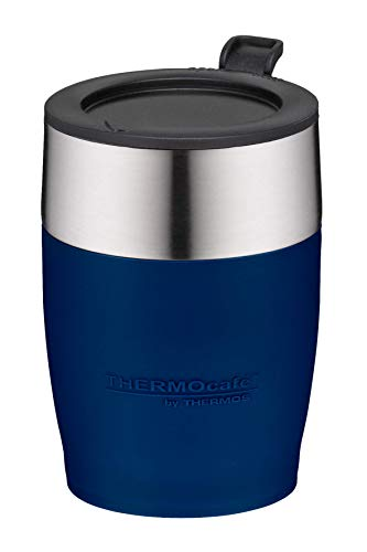 Thermos Isolierflasche stainless king Blue 0,47 litres bleu avec gobelet potable