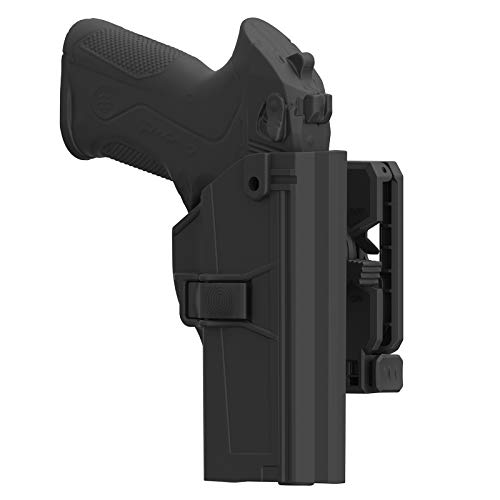 TEGE Beretta PX4 Storm Holster OWB, Beretta PX-4 Storm Full Size Holster,Tactical Polymer OWB Open Carry Belt Holster with Rapid Release 360° Adjustable Cant Fit PX 4 Storm 9mm .40 S&W, Right-Handed