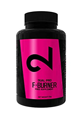 DUAL Pro F-Burner | Even Without Sport | for Women and Men | 100 Vegan Capsules | Active Substances Complex |Without Additives|No Stimulants| 100% Natural Dietary Supplement | Weight Loss Diet Pills