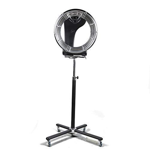 UFO 3 In 1 Orbiting Infrared Hair Dryer-Hair Steamer Standing Professional Color Processor Salon Hair Dryer Spa 360 Rotation 110v (850W)