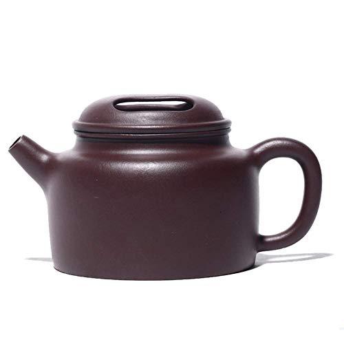 ShiSyan Alta Capacidad Tetera de Mano Viejo Famoso Tetera de Arcilla púrpura Tapa Domineering Ganado 300 ml de té Utensilios