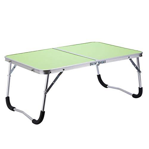 Yhtech Modern Plegable escritorio de la computadora multifuncional Luz de tabla plegable Célula compartida Cama portátil pequeño escritorio mesa de picnic portátil bandeja de la cama Utilizado en espa